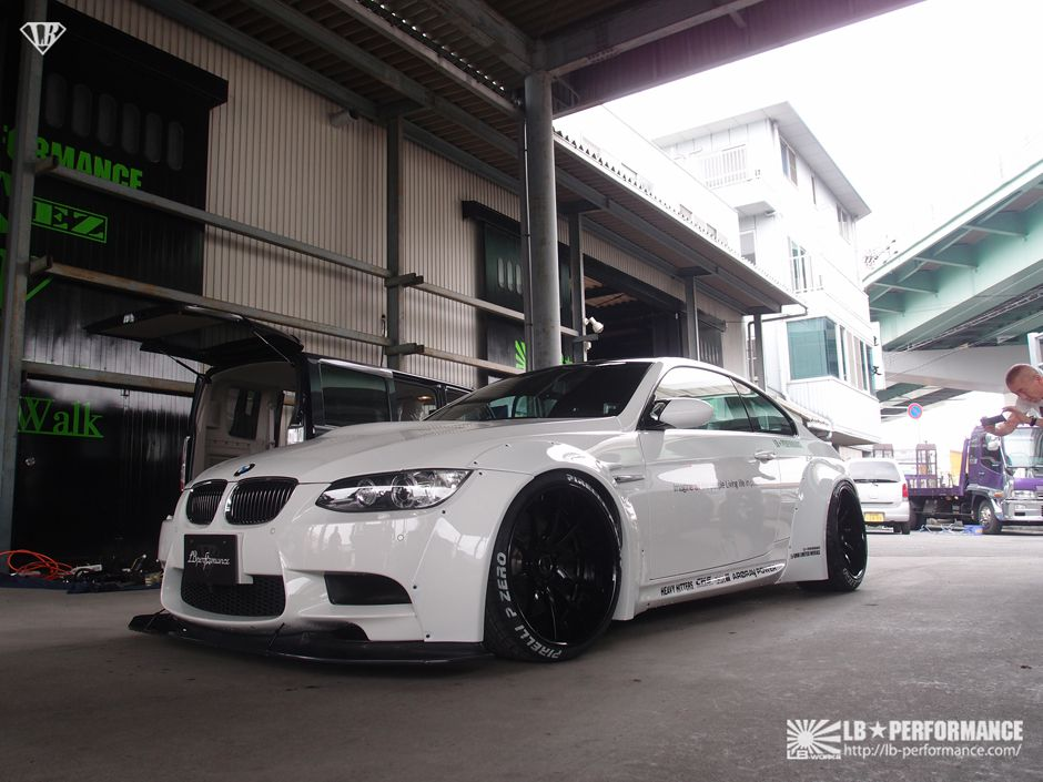 Lb Performance Creates Bolt On Wide Body Kit For Bmw E92 M3