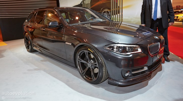 LCI 5 Series Touring by AC Schnitzer Shows Up at Essen 2013 [Live Photos]