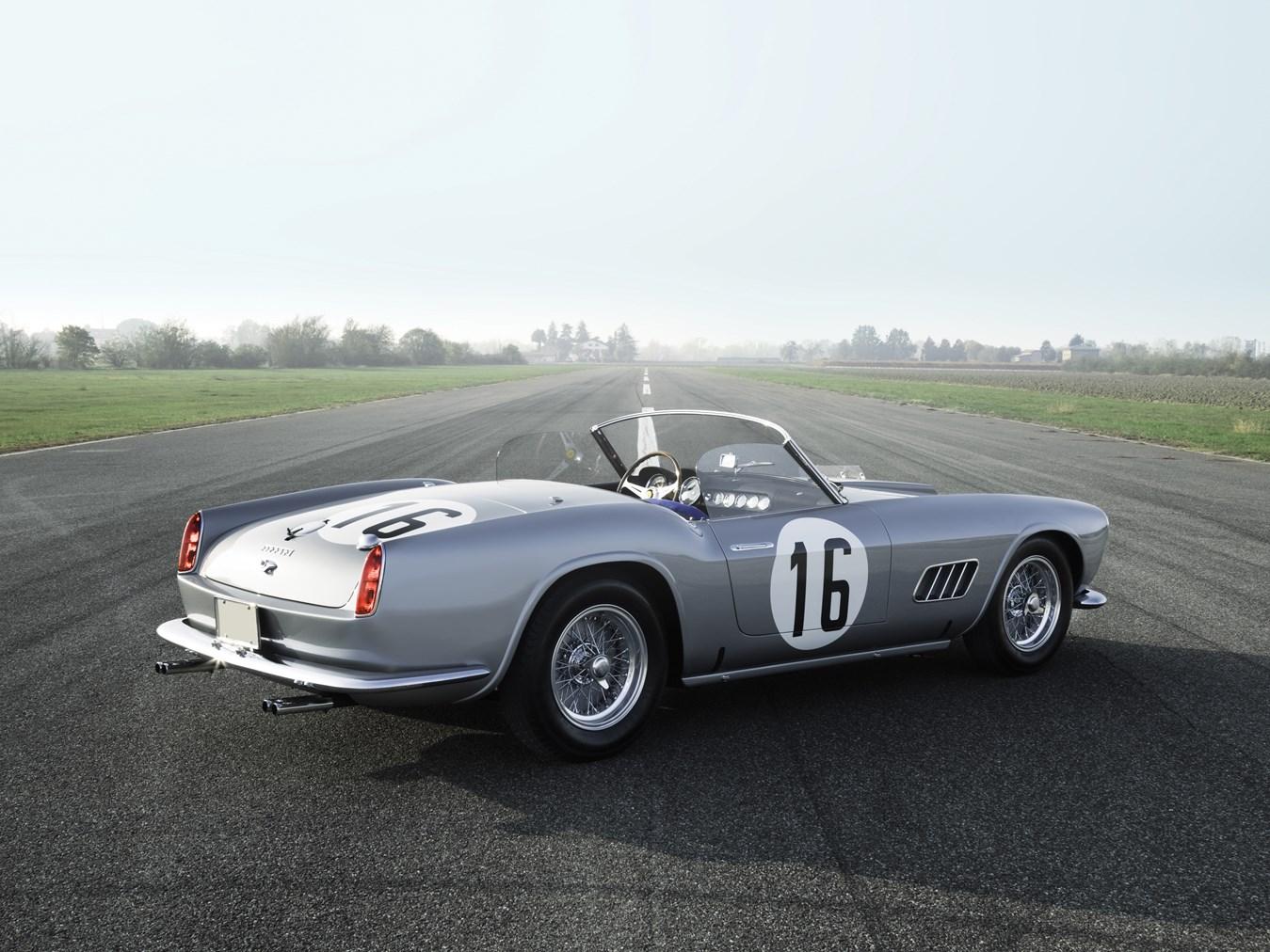 le mans-racing ferrari 250 gt lwb california heading to auction