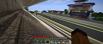Le Mans Track Replica Built in Minecraft [Photo Gallery]