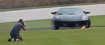 Learning How To Drift a Ferrari Can Be Tricky [Video]