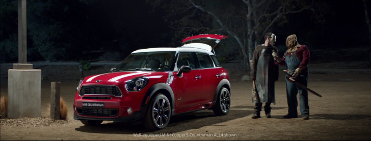 Leatherface and Jason X Talk About the Cargo Space of the MINI Countryman [Video]