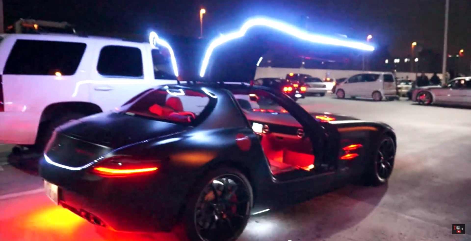 Under The Lights Car Show