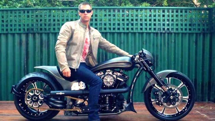 Lee Oakley's Roland Sands Harley-Davidson Softail [Photo Gallery]