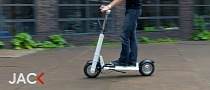 LEEV Jack, the Crowdfunded Folding Electric Scooter [Video]
