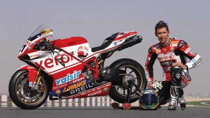 Legendary Ducati Rider Troy Bayliss Back In World