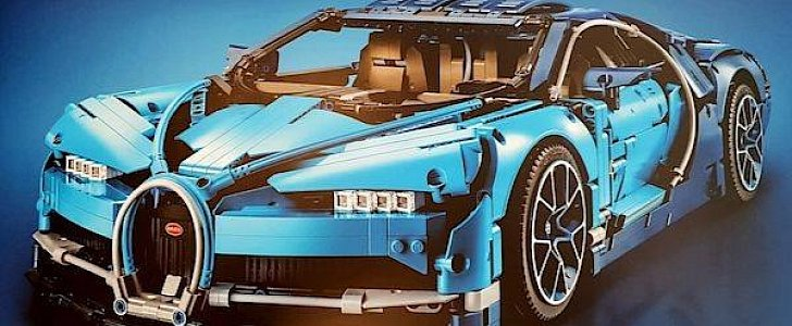 lego bugatti chiron leaks online looks ready to roll autoevolution. Black Bedroom Furniture Sets. Home Design Ideas