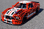 Lego Expert Creates Ford Mustang Shelby GT500 Scale Replica [Video]