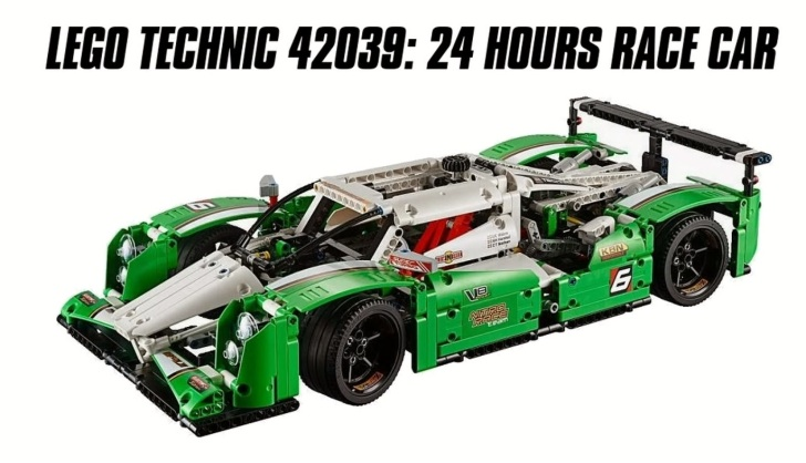 Lego Lmp1 Endurance Racecar Is Perfect For A Rainy Weekend