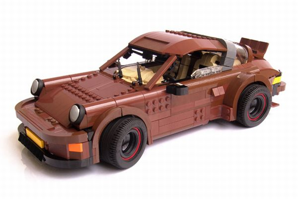 Lego Porsche 911 Has Working Suspension Autoevolution