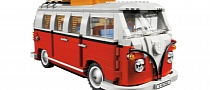 LEGO VW Camper Van Officially Launched [Photo Gallery]