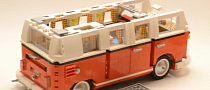 LEGO VW Camper Van Time-Lapse Build Is Awesome [Video]