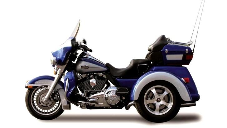 Lehman Shows Trinity Lls The New Harley Flh Trike