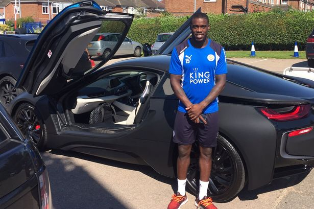 Leicester Players Have Their Fleet Of Bmw I8s Wrapped To