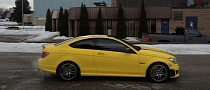 Lemon Mercedes-Benz C63 AMG by Restyle It [Photo Gallery]