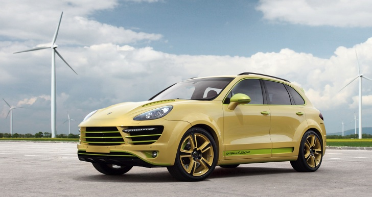 'Lemon' Porsche Cayenne Vantage 2 by Top Car [Photo Gallery]