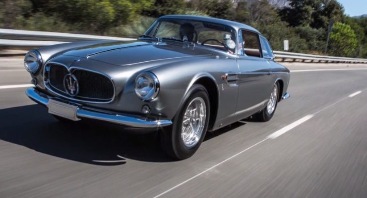 Leno Drives Stunning Maserati A6G 2000 Allemano Video