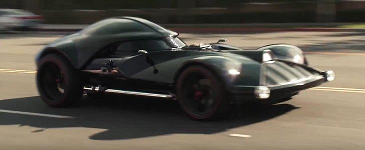 leno drives the real darth vader hot wheels car autoevolution - Real Hot Wheels Cars