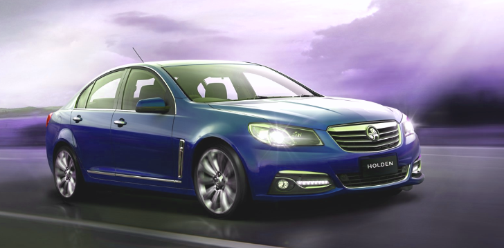 Let the 2014 Holden VF Commodore Brighten Your Day