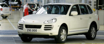 Let the Party Start: Porsche Produces 250,000th Cayenne