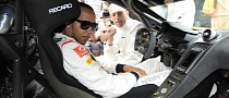 Lewis Hamilton and Jenson Button Drive Road and Race MP4-12Cs at Goodwood