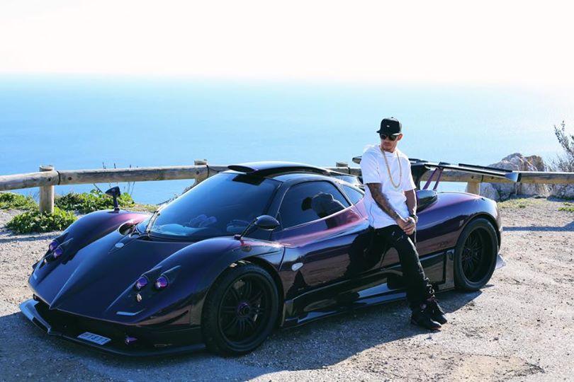 Lewis Hamilton Crashes Pagani Zonda in Monaco - autoevolution