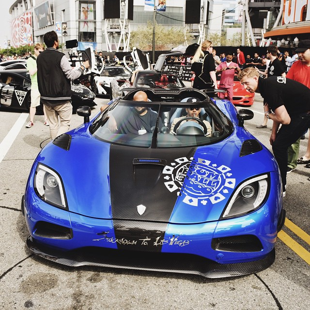 Pagani Zonda Lh: Lewis Hamilton Drives Koenigsegg At Gumball 3000, Runs Out
