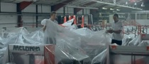 Lewis Hamilton, Jenson Button in McLaren's Historic Garage [Video]