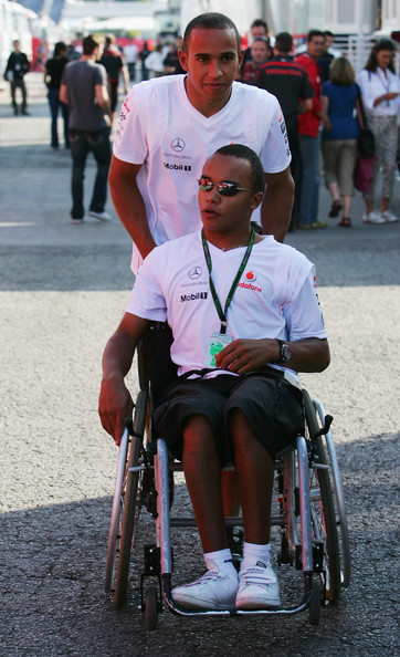 Lewis hamilton s brother nicolas to become first disabled driver in