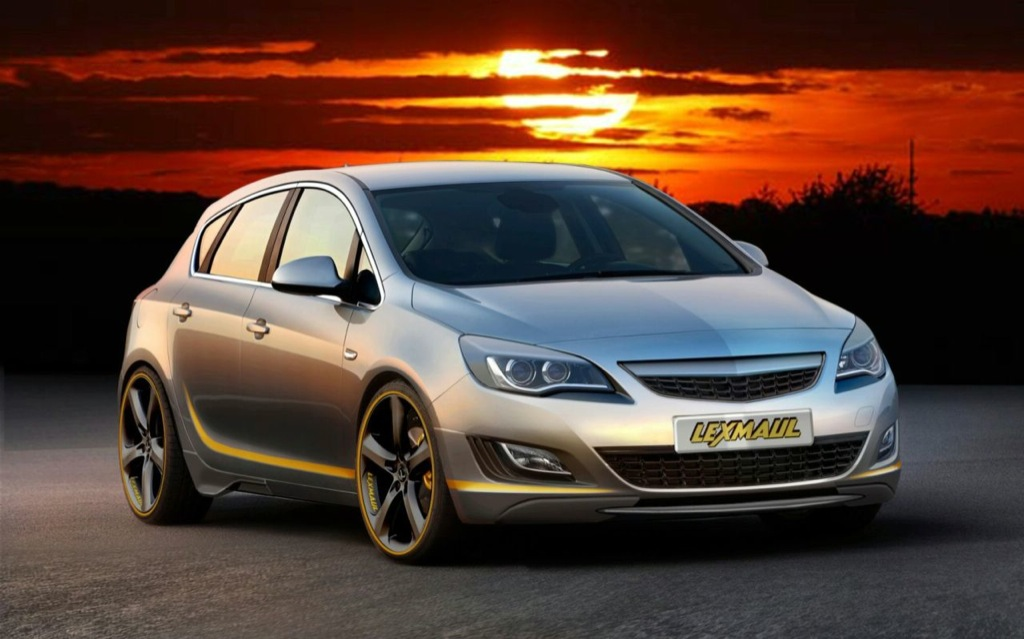 lexmaul launches new opel astra bodykit - autoevolution