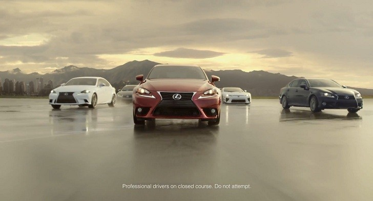 Lexus Advertises Golden Opportunity Sales [Video]