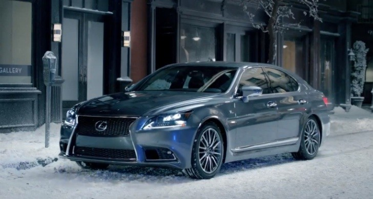 Lexus All-Wheel Drive Commercial: Walk the Walk [Video]