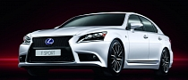 Lexus Announces Paris Offensive: New Concept, LS 600h F Sport