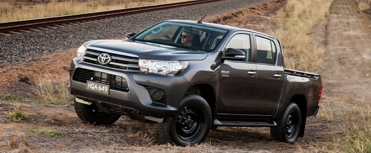 Toyota Diesel Pickup >> Lexus Could Be Planning a Premium Pickup Truck of Its Own ...