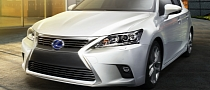 Lexus CT 200h Facelift First Official Images Released