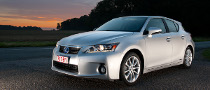 Lexus CT 200h Named IIHS Top Safety Pick