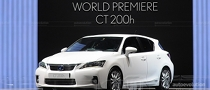 Lexus CT 200h to Feature First-in-Segment Safety Systems