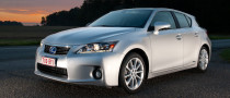 Lexus CT200h Named Clean Car of the Year in Brussels
