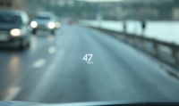 Lexus RX 450h new head-up display