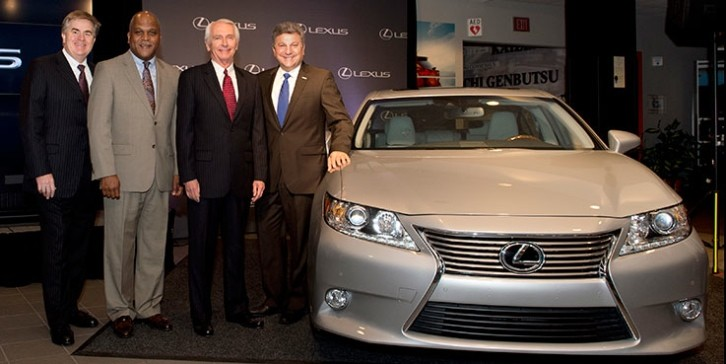 Lexus ES 350 To Be Produced in Kentucky