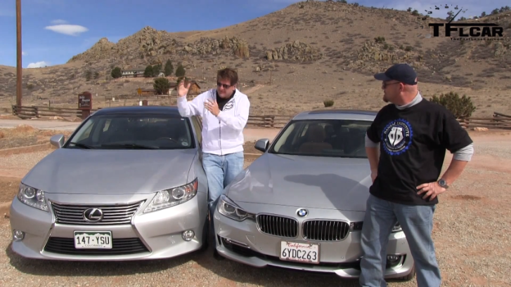 Lexus ES 350 vs BMW 335i Seems a Useless Comparison [Video]