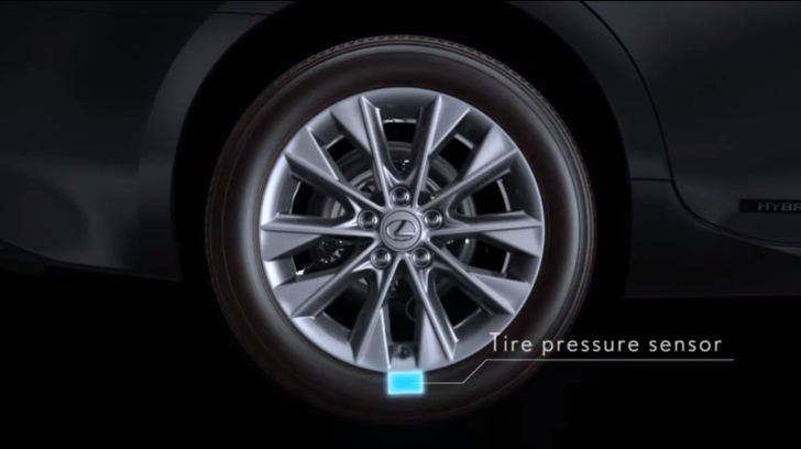 Lexus ES Tire Pressure Warning System Explained [Video]