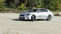 Lexus GS 450h F Sport turning circle