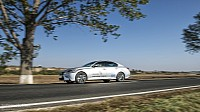 Lexus GS 450h F Sport open road driving