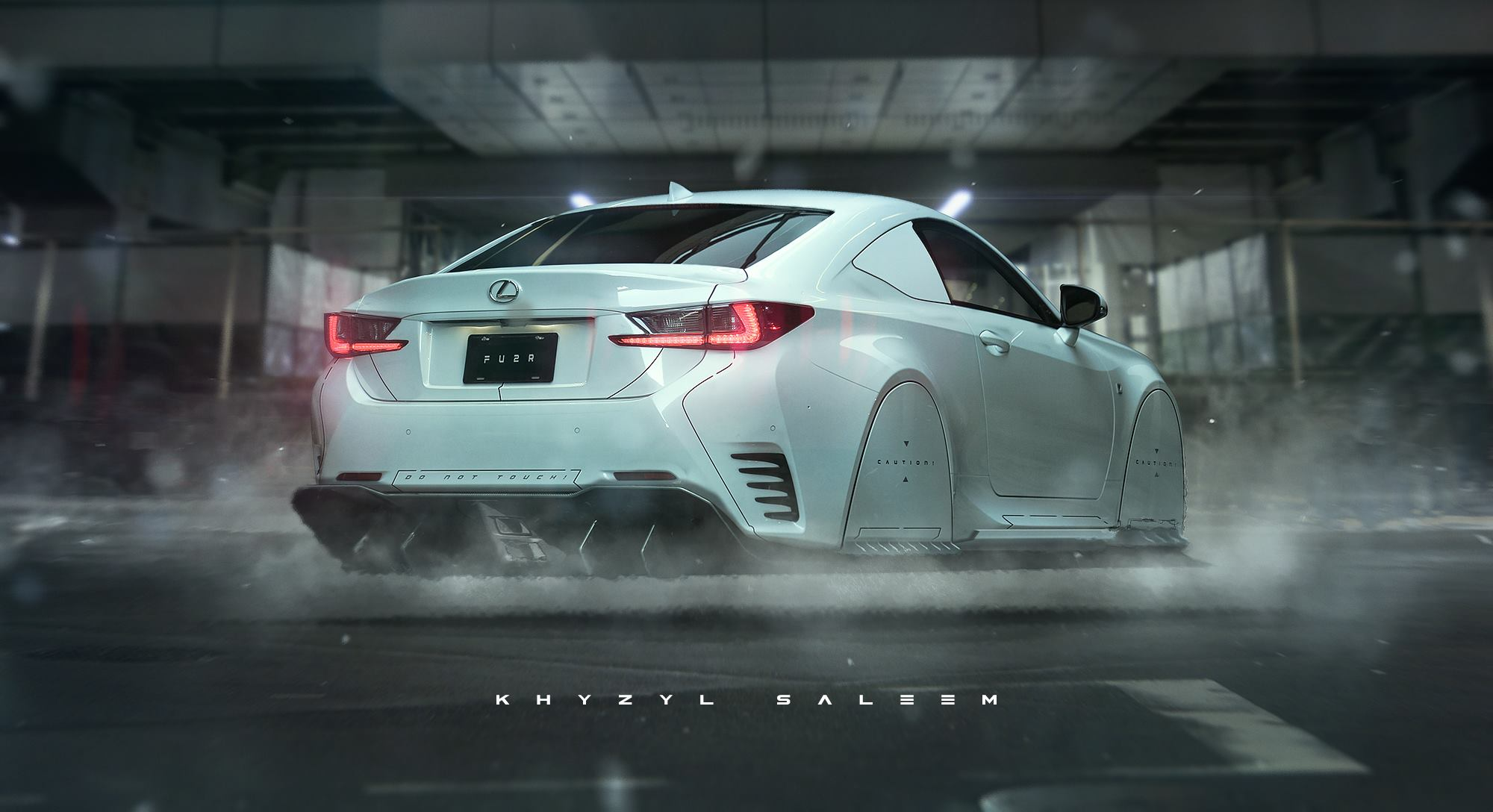 Lexus FU2R Is An RC Coupe Turned Hovering Car Autoevolution