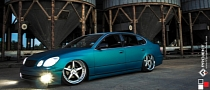Lexus GS 300 Rides on Extra Wide Rims