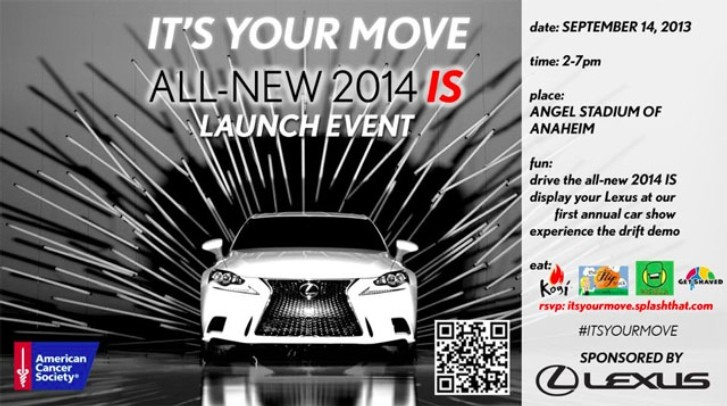 Lexus Invites You at Cool Launching Event