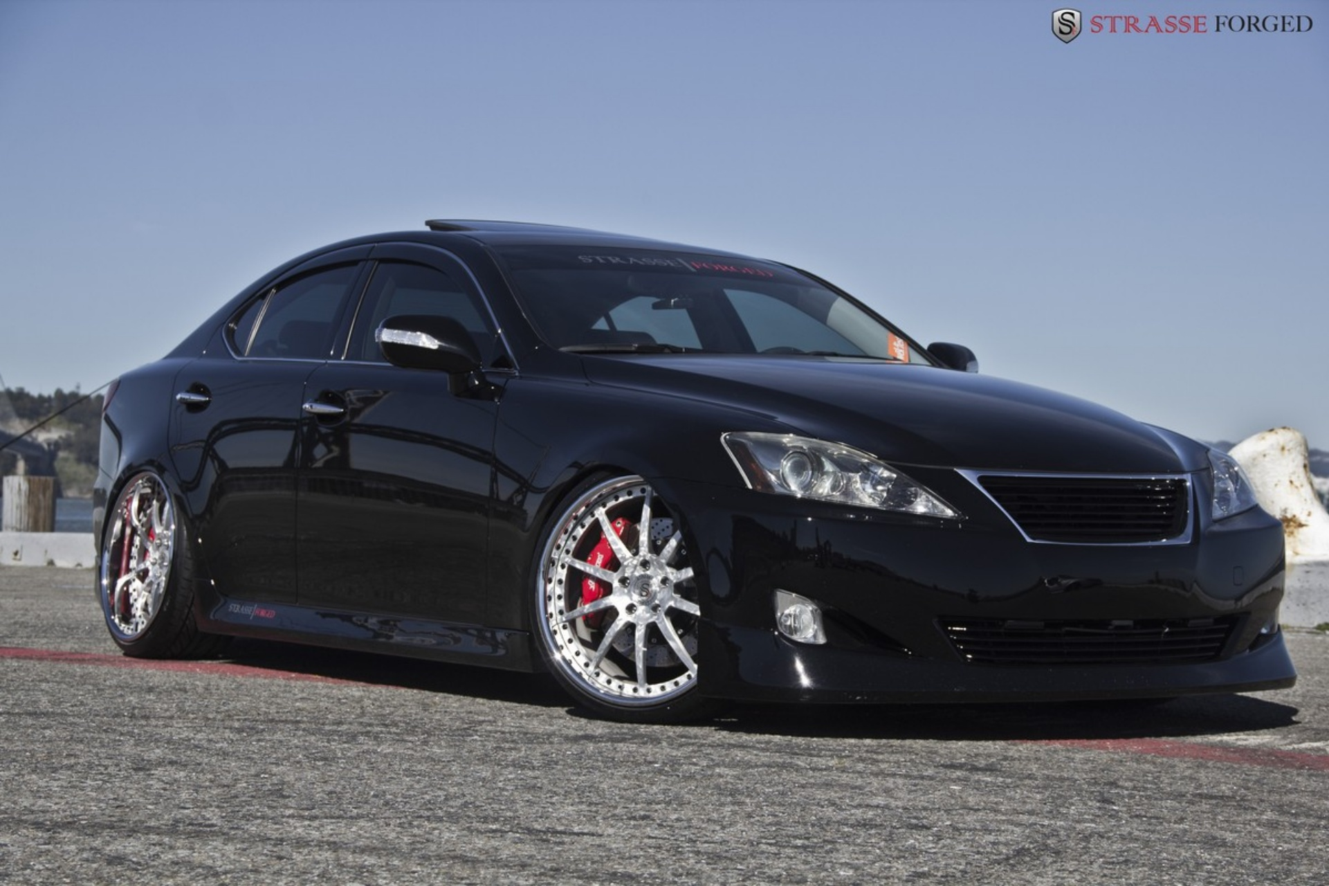 lexus is 250 on strasse forged wheels autoevolution. Black Bedroom Furniture Sets. Home Design Ideas
