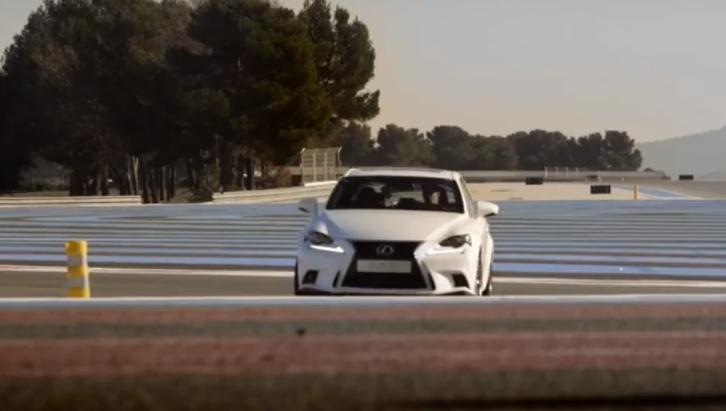 Lexus IS 300h F Sport Driven by Former F1 Driver Alex Wurz [Video]