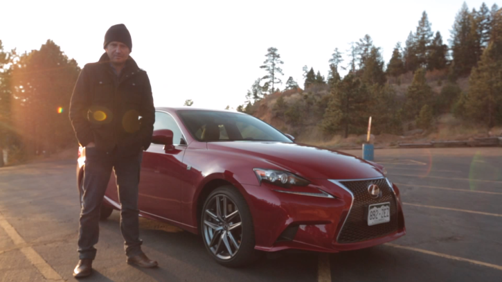Lexus IS 350 F Sport Tested at Pikes Peak by MotorTrend [Video]